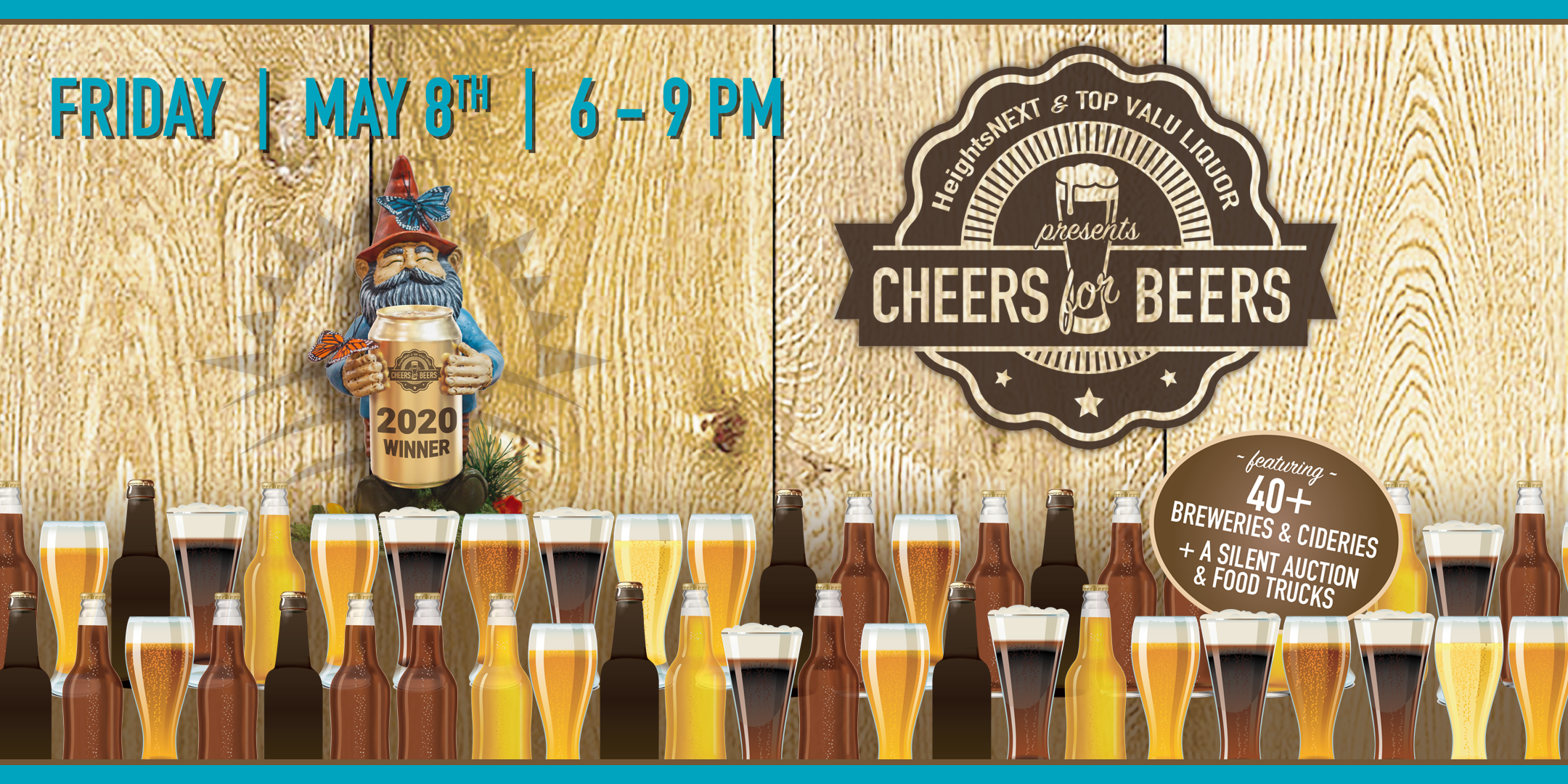 Cheers for Beers 2020 fundraiser