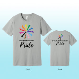 Columbia Heights PRIDE T-Shirt (silver)