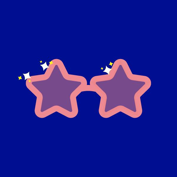 Star-shaped glasses