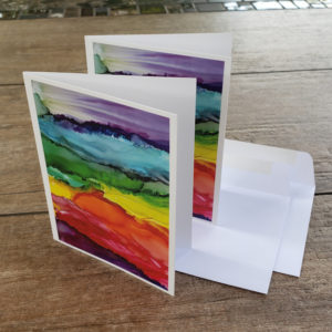 PRIDE greeting cards with envelopes
