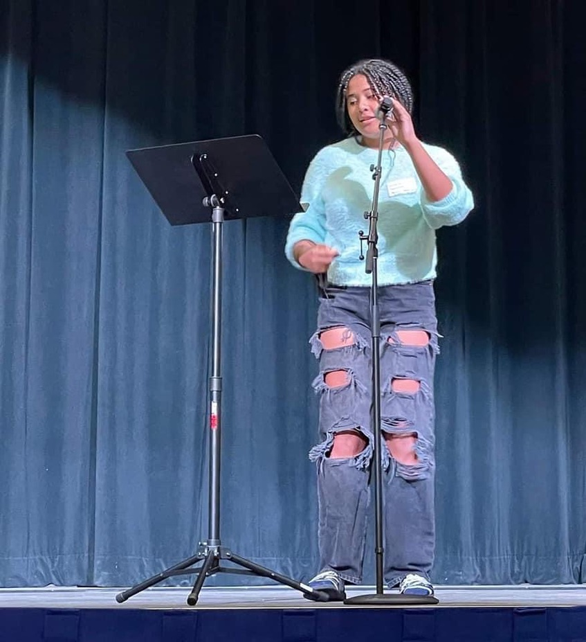 Columbia Heights Youth Culture - Poet Amara Thompson