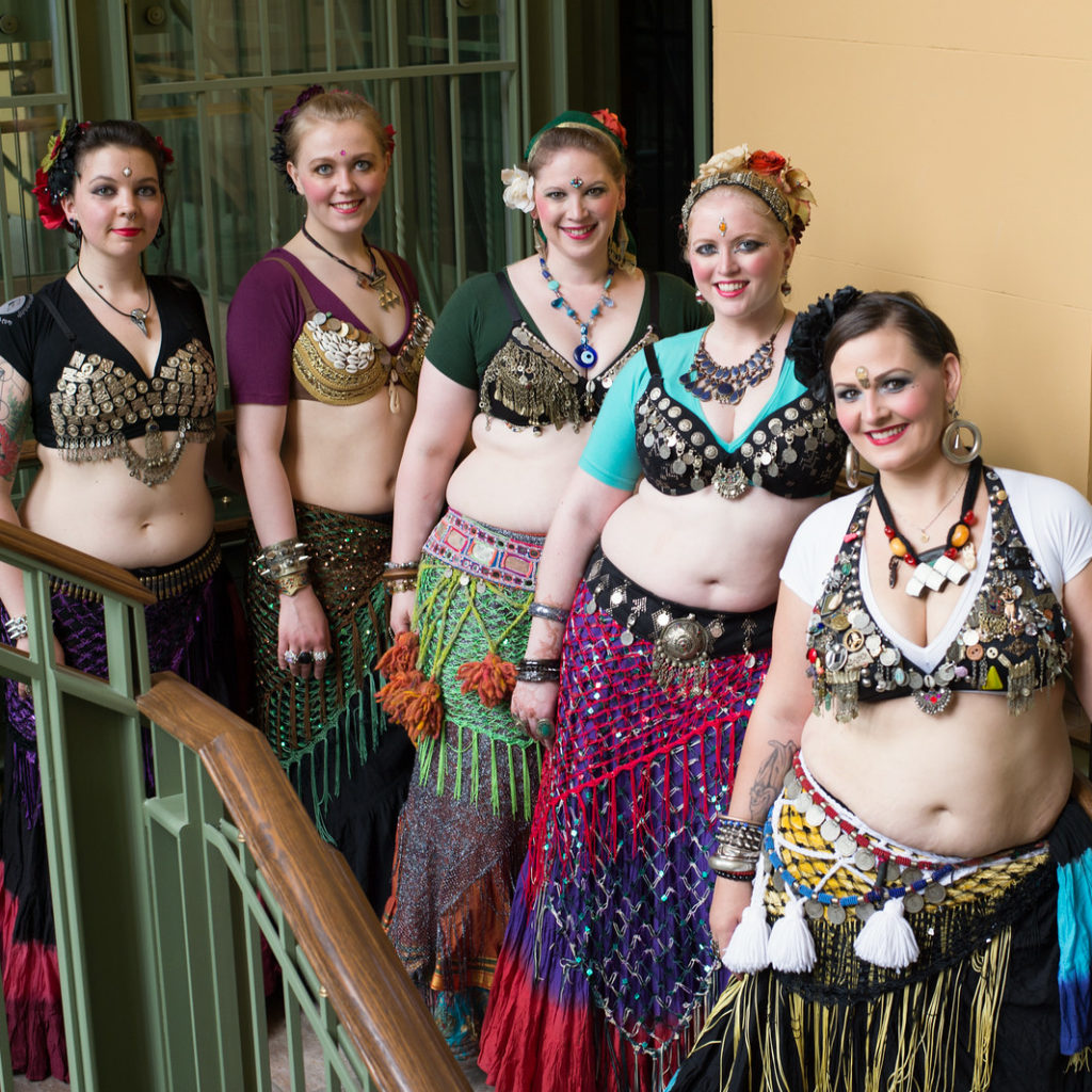 Adara Din KCDC belly dancers